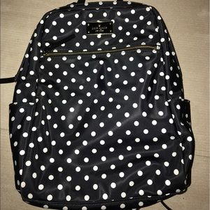 Kate Spade ♠️ Polkadot small backpack